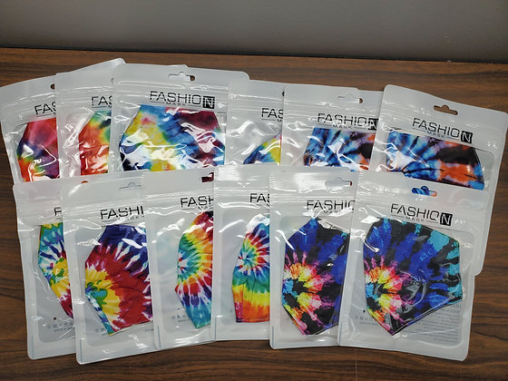 Fashion Mask - Cotton Tie Dye