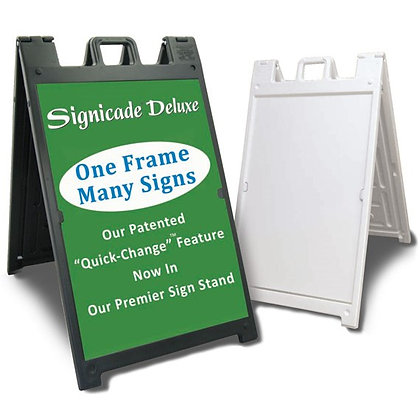 Signicade Deluxe Sidewalk Sign