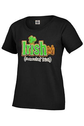 Irishish - (somewhat Irish)