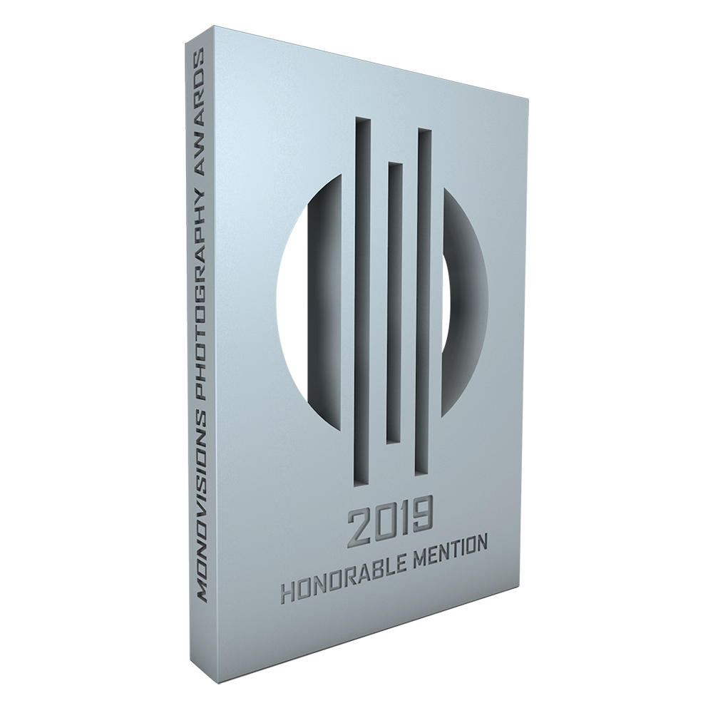 Honorable mention at Monovisions Awards 2019 for Frédéric Ducos