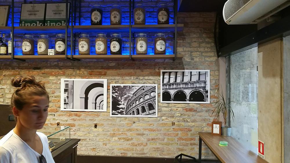Mes photographies d'art exposées à Budapest, Venise et Milan.