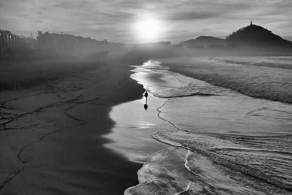 Photographie d'art I Photo d'art I Tableau photo I Tableau art I Alone at sunset I Frédéric Ducos I Artiste photographe I Art