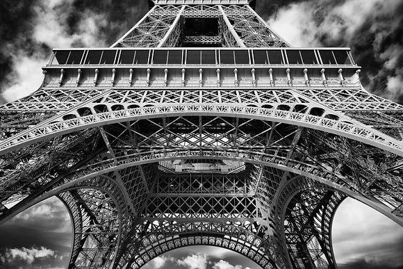 Photographie d'art I Photo d'art I Tableau photo I Tableau art I Eiffel tower I Frédéric Ducos I Artiste photographe I Art