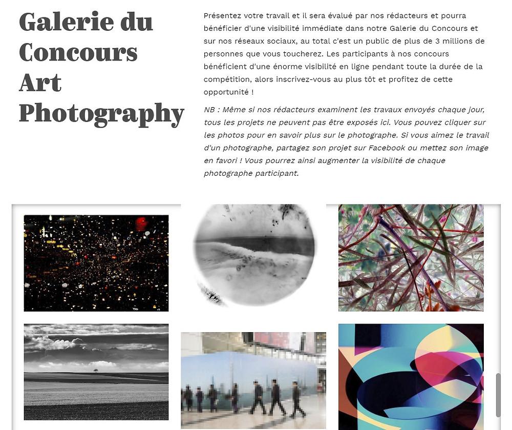 Galerie du concours Art Photography Awards 2019