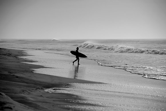 Photographie d'art I Photo d'art I Tableau photo I Surf I Art I Surfeur face à l'océan I Frédéric Ducos I Artiste photographe