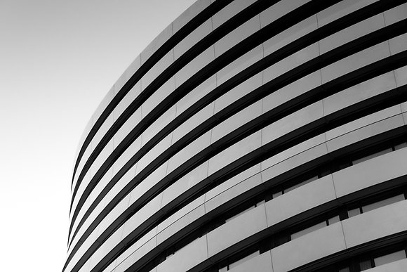 Photographie d'art I Photo d'art I Photo art I Tableau art I Curved building I Frédéric Ducos I Artiste photographe
