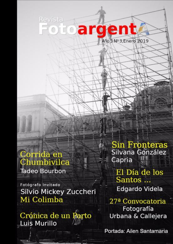 Publication de mes portraits de célébrités dans le magazine Argentin FotoargentA.