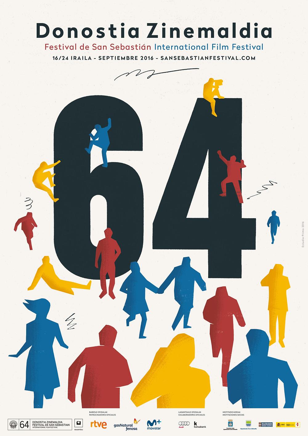 64 ième festival international du film de San Sebastian