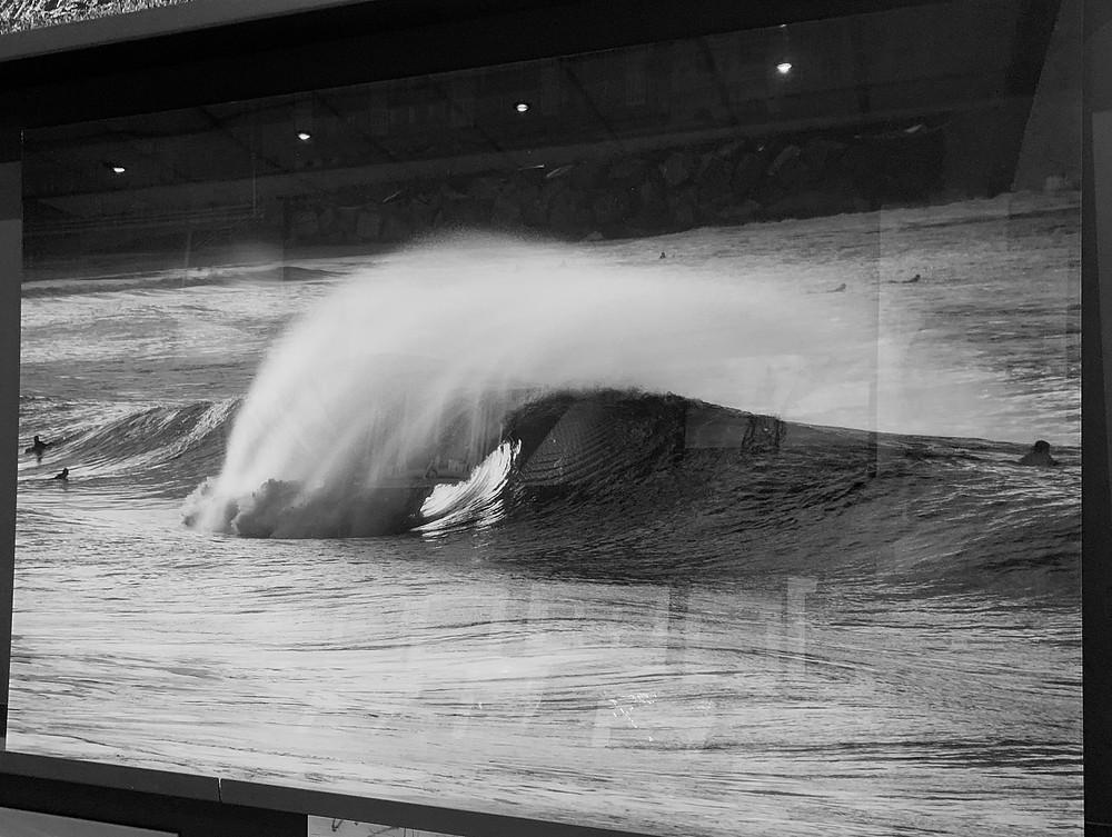 Photographie d'art de Frédéric Ducos sous plexiglass