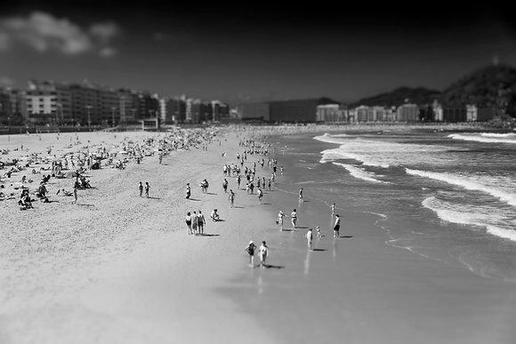 Photographie d'art I Photo d'art I Tableau photo I Tableau art I People on the beach I Frédéric Ducos I Artiste photographe