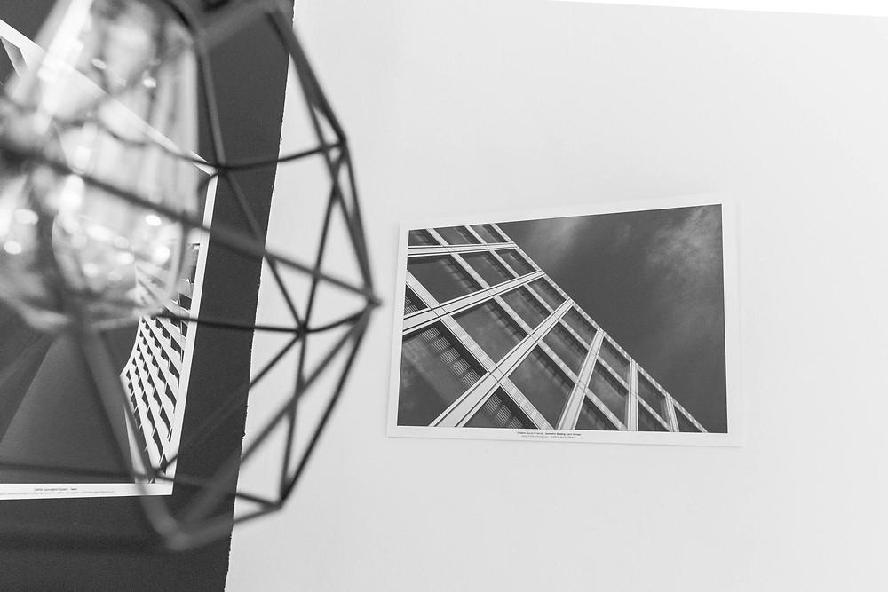 Exposition des photos d'art urbaines de Frédéric Ducos à Trieste, Italie.