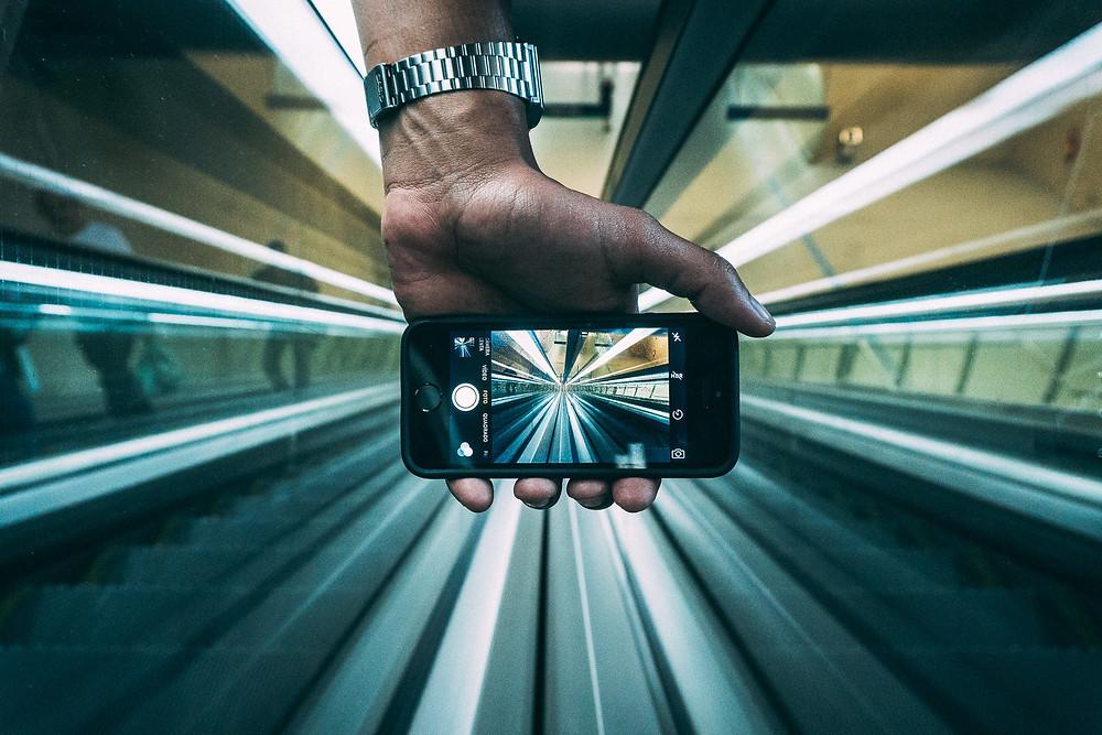 Photo urbaine au smartphone