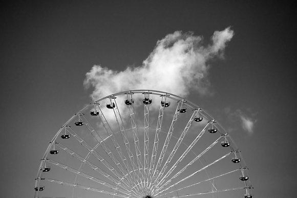 Photographie d'art I Photo d'art I Tableau photo I Tableau art I Giant wheel I Frédéric Ducos I Artiste photographe I Art