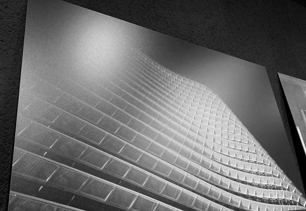 Photographie d'art de Frédéric Ducos sur aluminium
