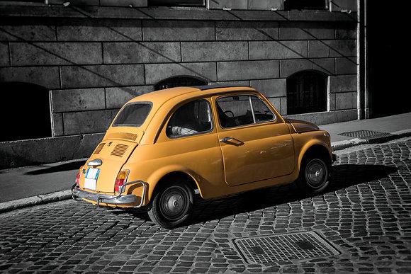 Photographie d'art I Edition limitée I Art print I Vintage italian car in Rome I Frédéric Ducos I Artiste photographe I Art