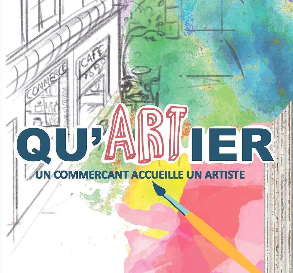 Exposition Qu'artiers de la ronde des quartiers de Bordeaux