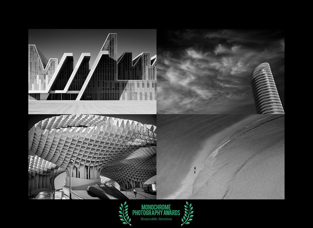Récompenses aux Monochrome photography awards 2017.