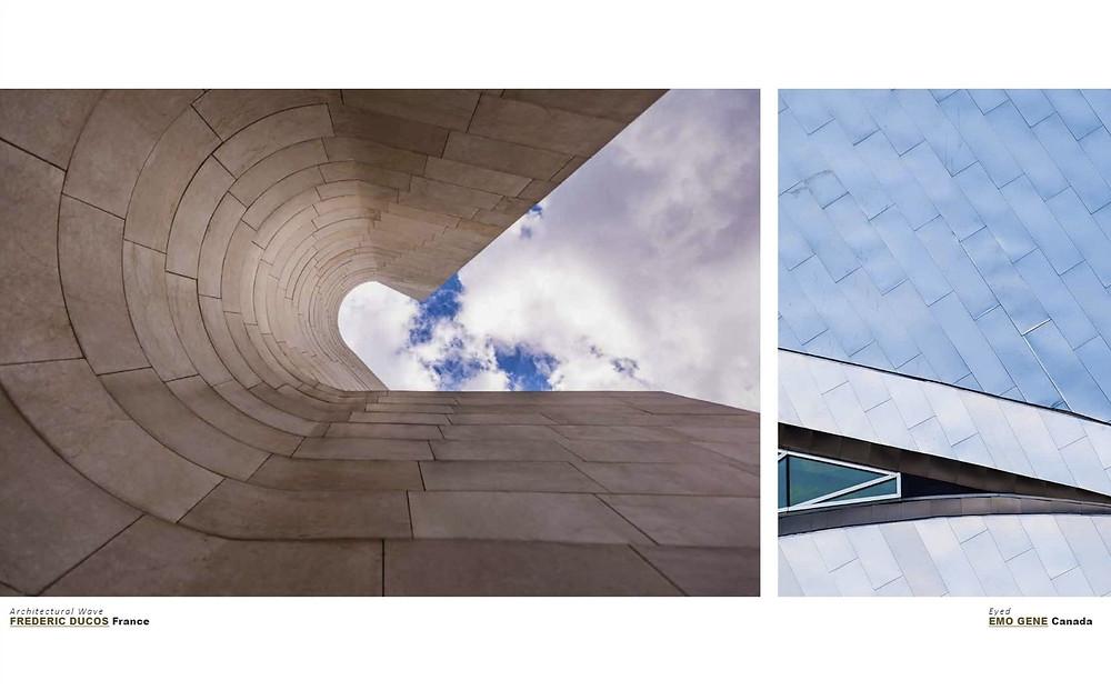 """Ma photo """"Architectural wave"""" a été publiée dans le winners book des International color awards."""