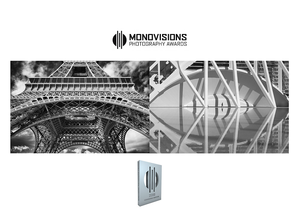 """2 """"honorable mentions"""" at Monovisions Awards 2019 for Frédéric Ducos"""