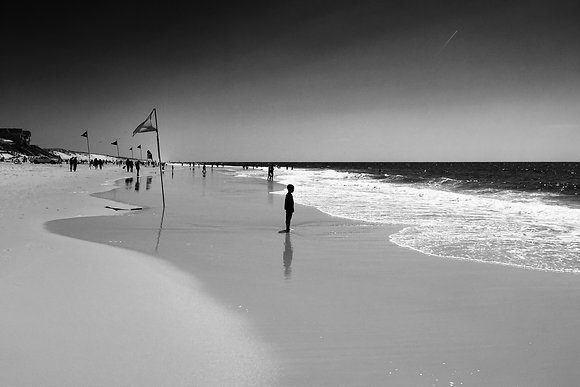 Photographie d'art I Edition limitée I Tableau photo I Art print I Contemplating the sea I Frédéric Ducos I Artiste photo