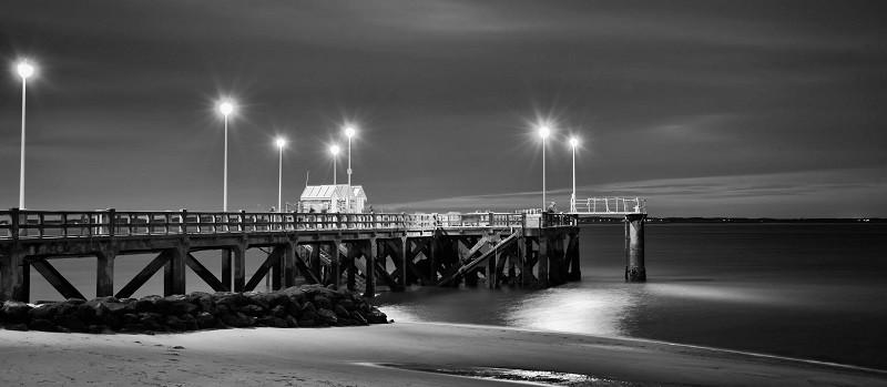 Photographie de nuit réalisée par Frédéric Ducos artiste photographe