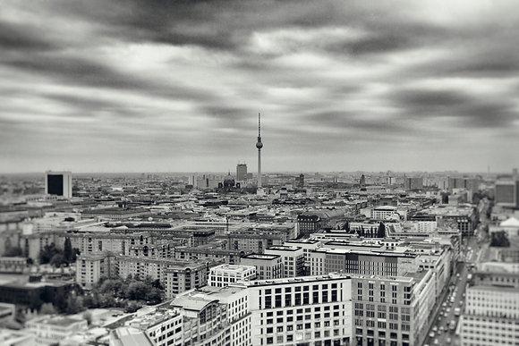 Photographie d'art I Photo d'art I Tableau photo I Tableau art I Berlin panorama I Frédéric Ducos I Artiste photographe I Art