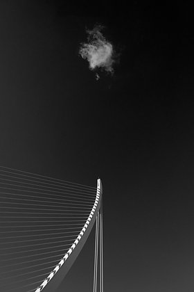 Photographie d'art I Photo d'art I Tableau photo I Oeuvre d'art I The bridge and the cloud I Frédéric Ducos I Artiste photo