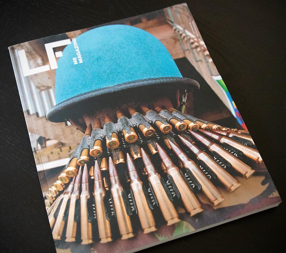 """Publication des photos d'art de Frédéric Ducos dans le magazine espagnol """"La Fotografia""""."""