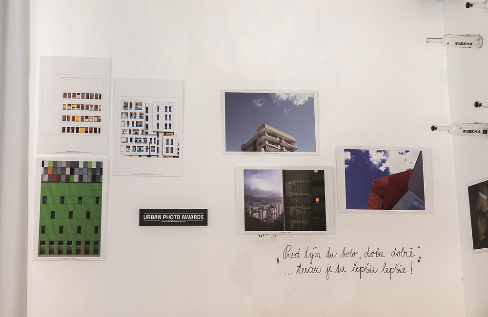 Exposition des photos de Frédéric Ducos à Bratislava.