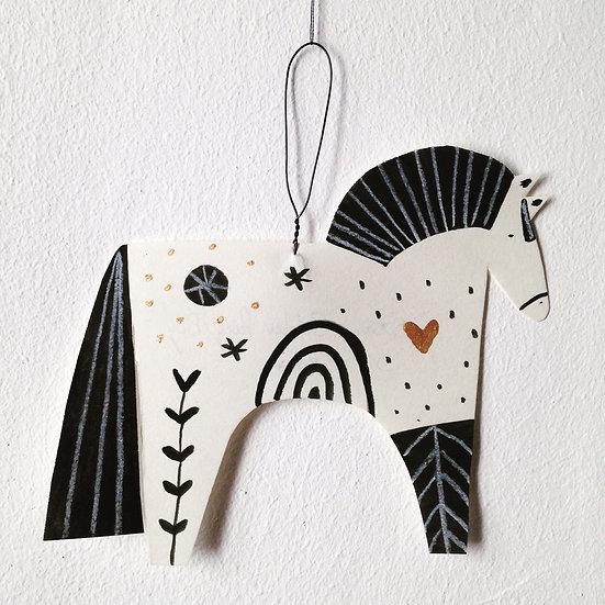 Paper Pony Decoration