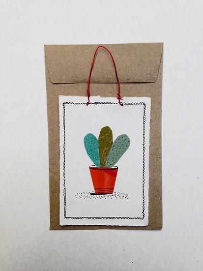 House Plant - Tiny Paper Tile