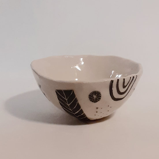 Teeny tiny ceramic pinch bowl