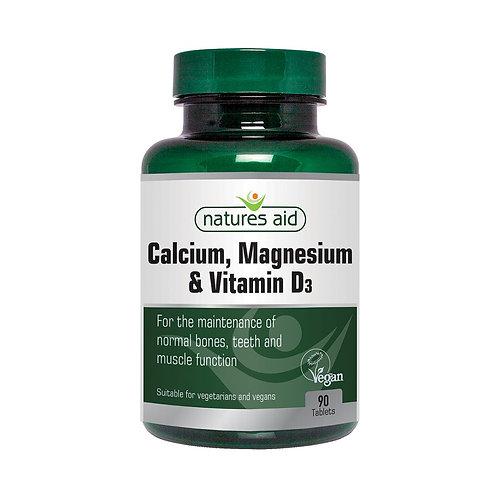Calcium, Magnesium & Vitamin D3