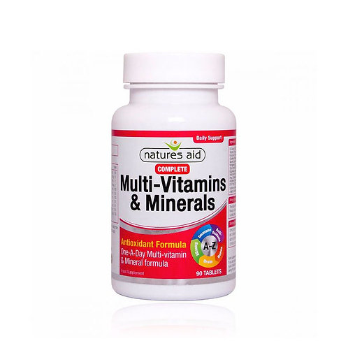 Complete Multivitamins and Minerals