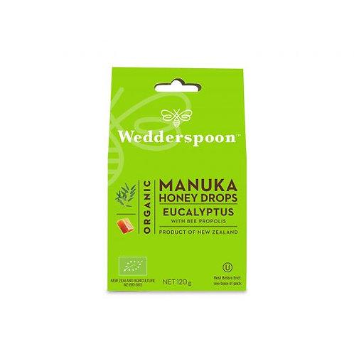 Organic Manuka Honey Drops – Eucalyptus