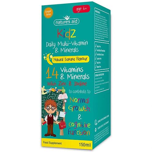 Kidz Multi-Vitamin & Minerals
