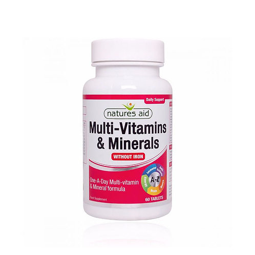 Multivitamins & Minerals (without Iron)