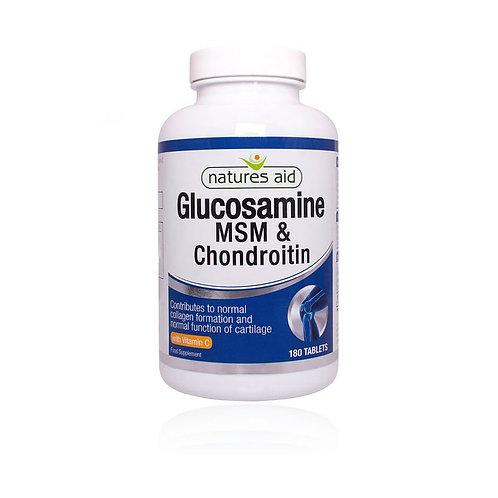 Glucosamine, MSM & Chondroitin x 90 tabs
