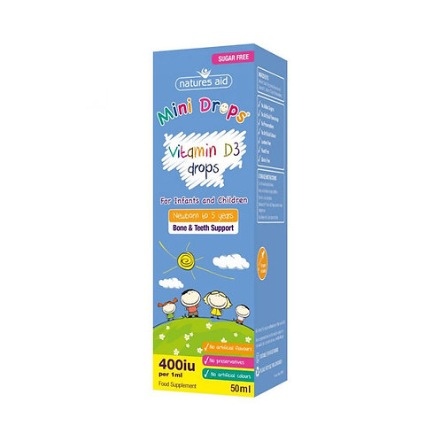 Vitamin D Mini Drops for Infants & Children