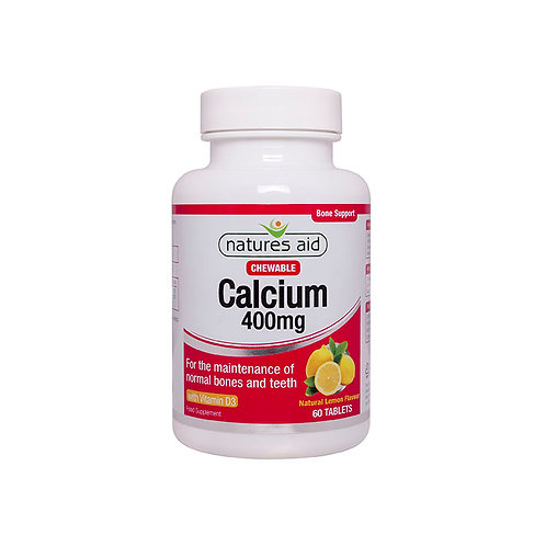 Calcium (Chewable) 400mg with Vitamin D