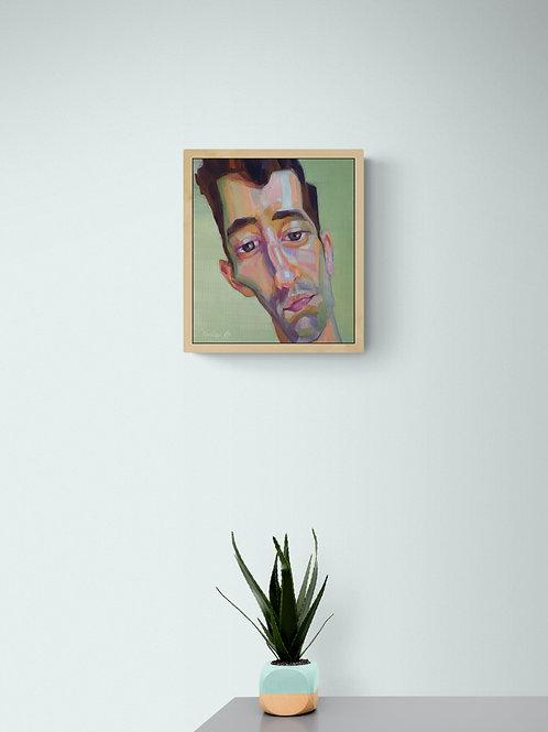 Paolo, Original Artwork (oil on canvas, 30cm x 28cm)