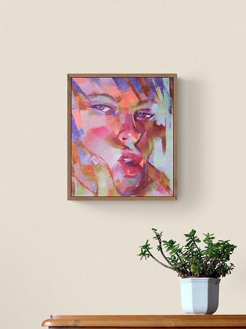 Compliant, Original Artwork (oil on canvas, 35cm x 30cm)