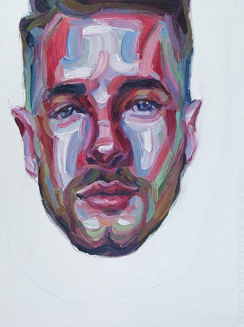 Bobby, Original Artwork (oil on canvas, 35cm x 30cm)