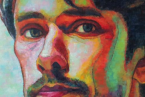Ben, Original Artwork (oil on canvas, 65cm x 45cm)