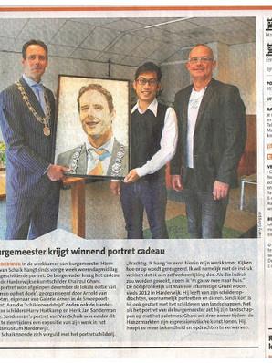 In the news - Het Kontakt, 29 April 2015