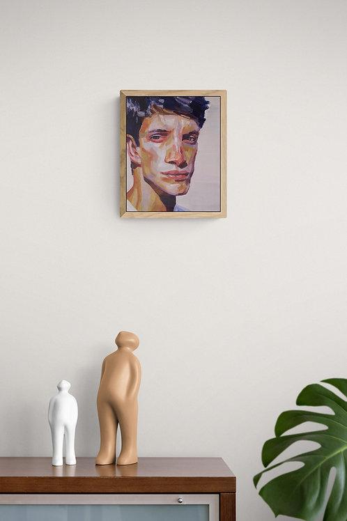 Soul Searching, Original Artwork (oil on canvas, 22cm x 27cm)