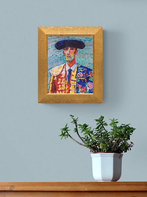 Matador, Original Artwork (oil on canvas, 23cm x 29cm)