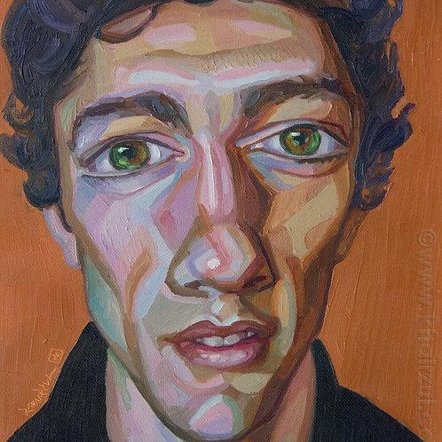 Keith,  Original Artwork (oil on canvas, 35cm x 30cm)
