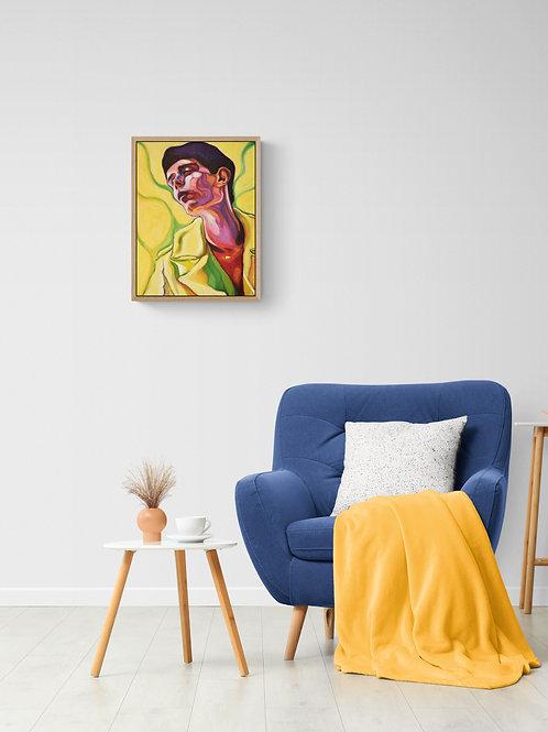 Nook, Original Artwork (oil on canvas, 53cm x 40cm)