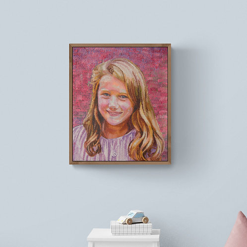 Bea, 2019, Commission Work (oil on canvas, 60cm x 50cm)